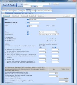 Online PCB Calculator with Values inserted by Payroll Software