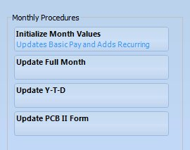 monthly procedures